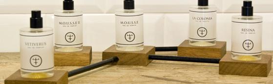 Perfumes Oliver&Co. Vetiverus, Mousse II, Mousse, La Colonia y Resina.