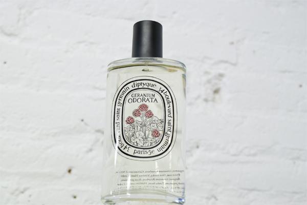 Geranium Odorata, de Diptyque.