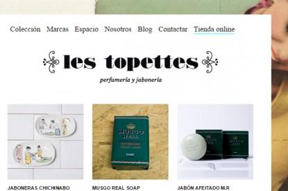 Tienda online Les Topettes.