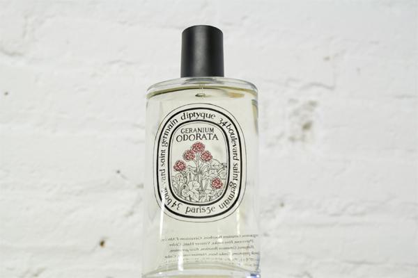 Geranium Odorata de Diptyque. diptyque barcelona, geranium, geranio, perfume de geranio